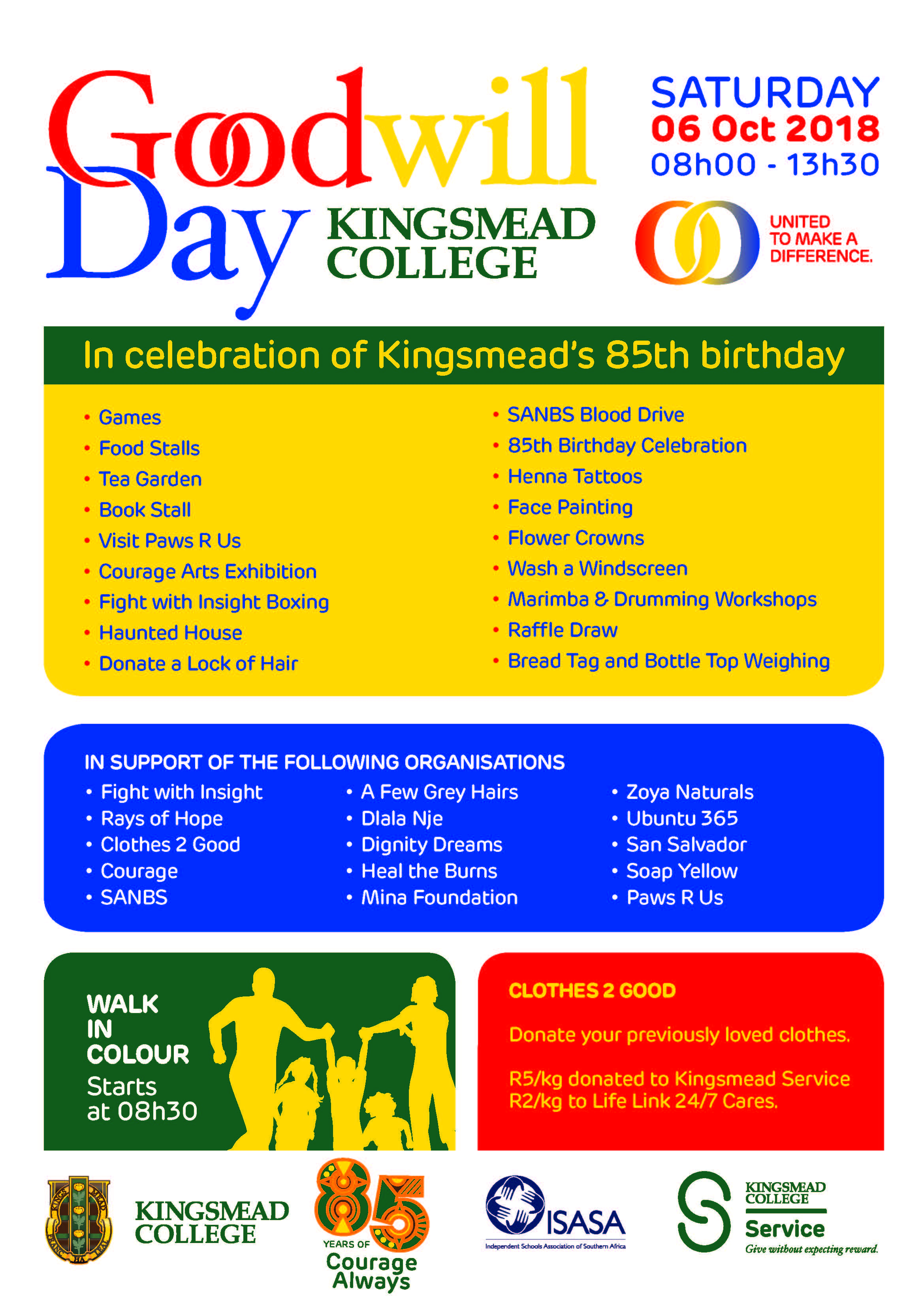 11890 KM Goodwill day 2018 A3Poster updated Kingsmead College