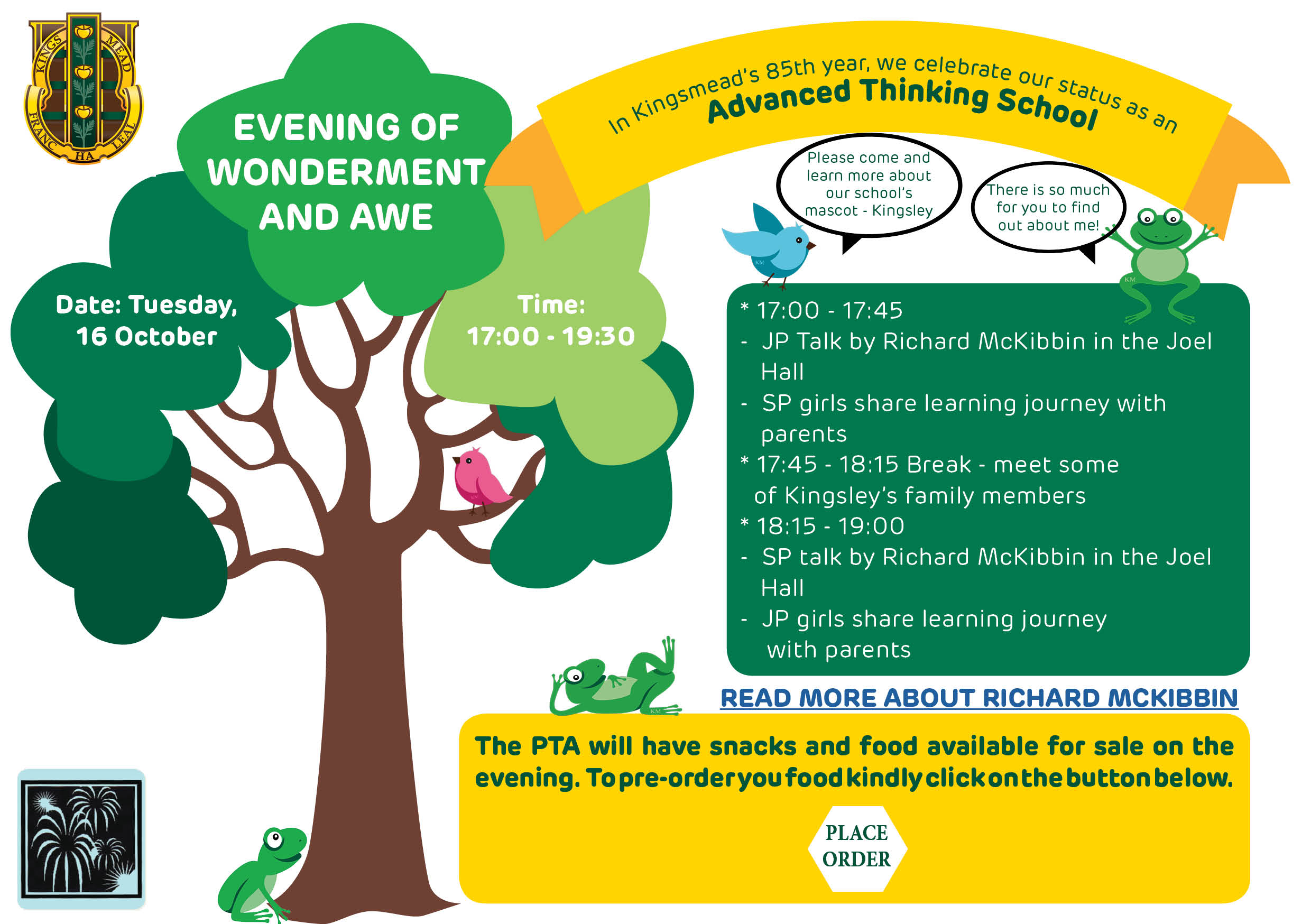 Evening of wonderment and awe Kingsmead College