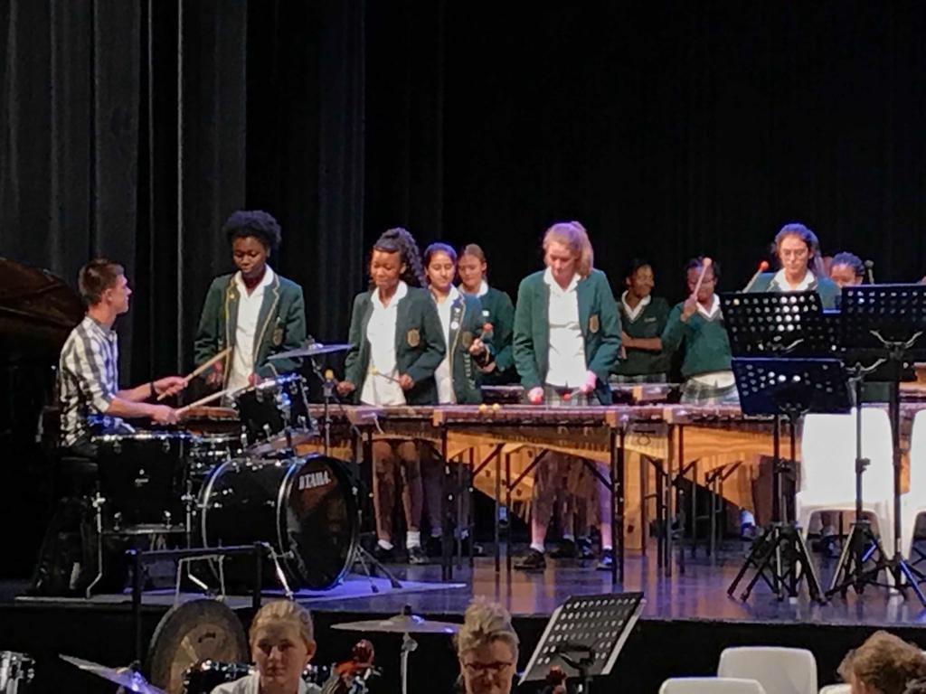 marimbas 4 schools Kingsmead College