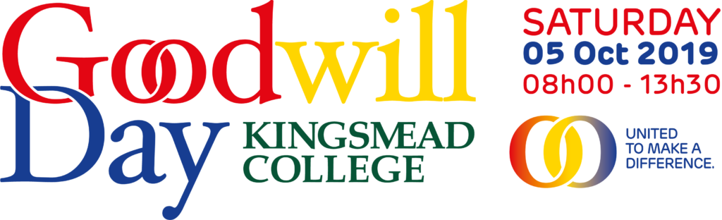 Goodwill Day Logo Kingsmead College