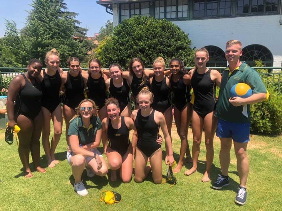 Kingsmead College U14 Water Polo team