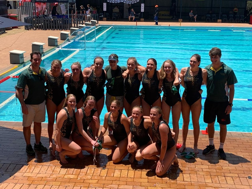 Kingsmead College Water polo team October