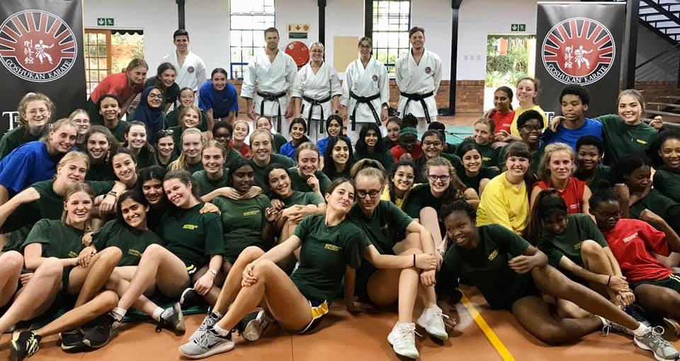 Goju Karate Academy and Kingsmead College