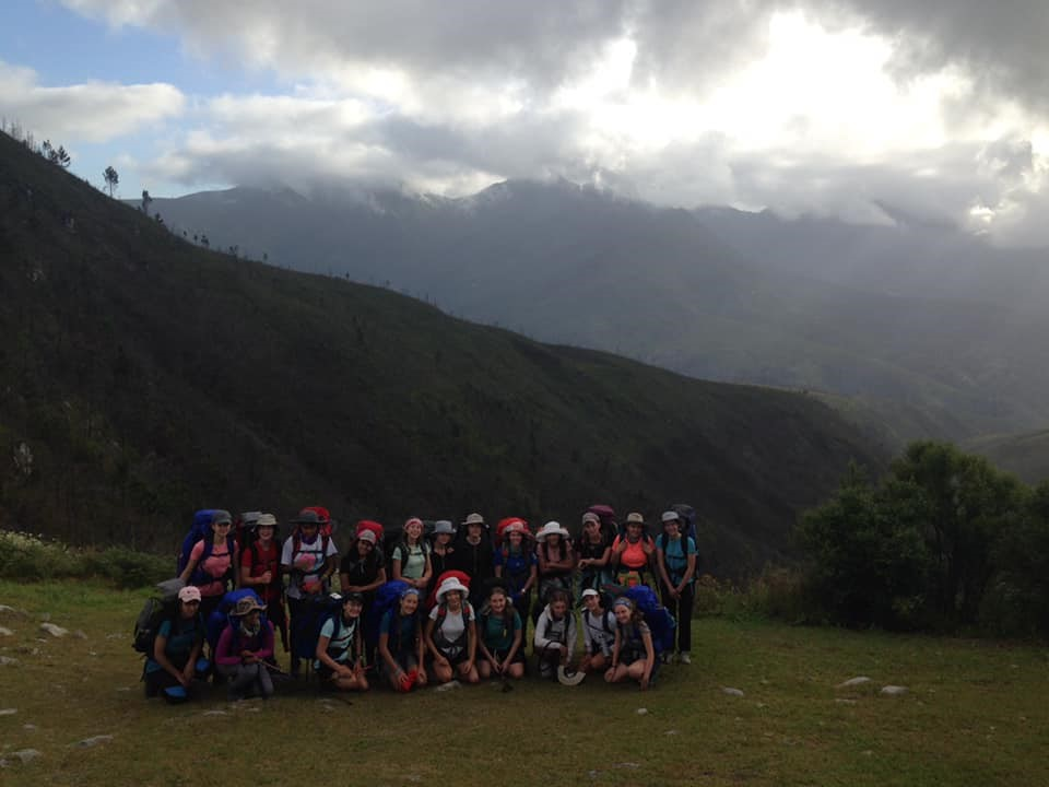 Kingsmead College students on the Outeniqua Trail