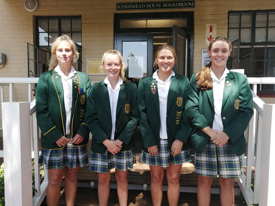 Kingsmead College National Water Polo training squads