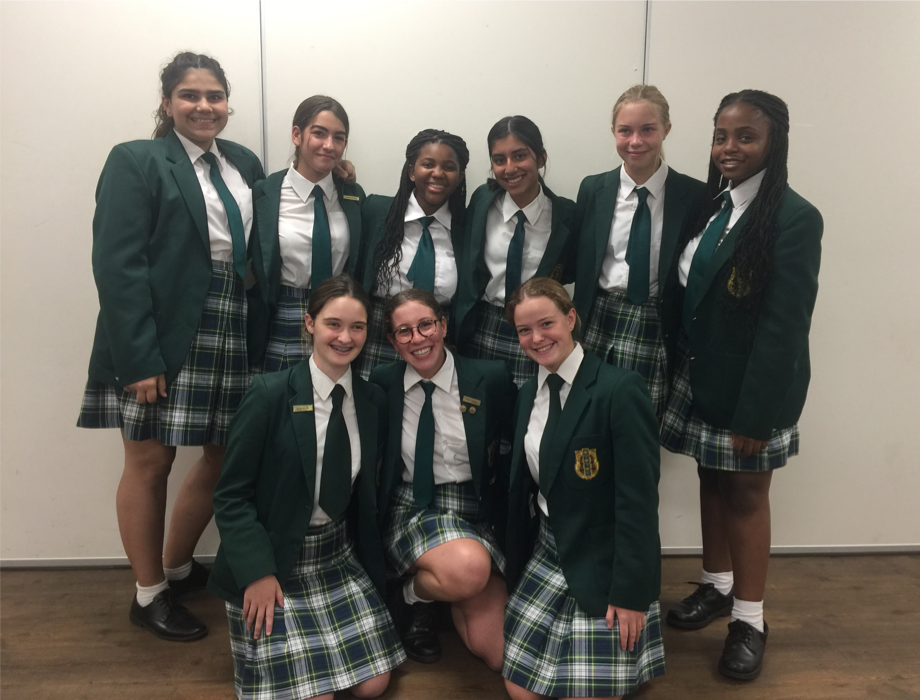 Grade 9 PS team for newsletter Kingsmead College