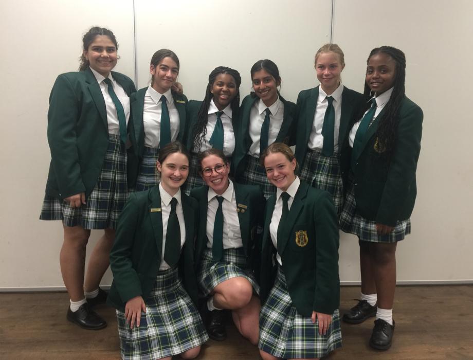 Grade 9 PS team for newsletter Kingsmead College