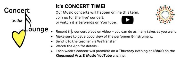 Concert Image Kingsmead College
