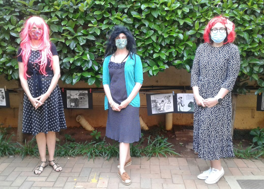 Book Character Dress up Day Teachers 3 Kingsmead College