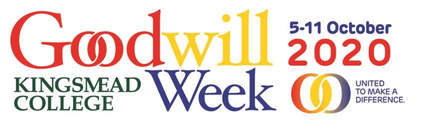 Goodwill Week Logo Kingsmead College