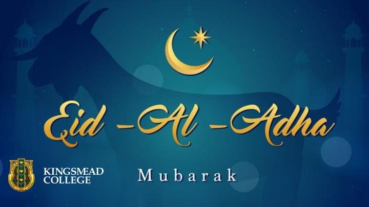 Eid al adha poster Kingsmead College
