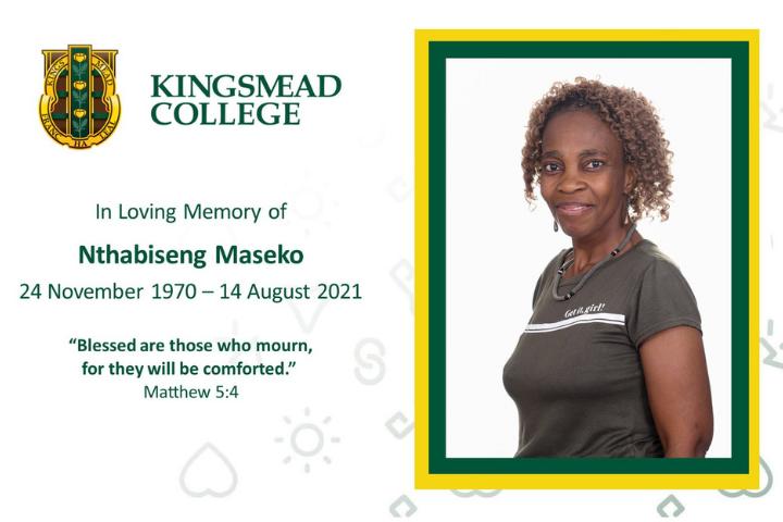 Nthabiseng Maseko Kingsmead College